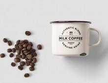 Milk Coffee Branding
